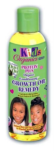 Africa's Best Organic Kids Protein Plus Growth Oil Remedy 8oz