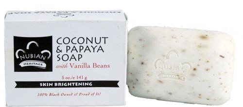 Nubian Coconut & Papaya Soap 5oz