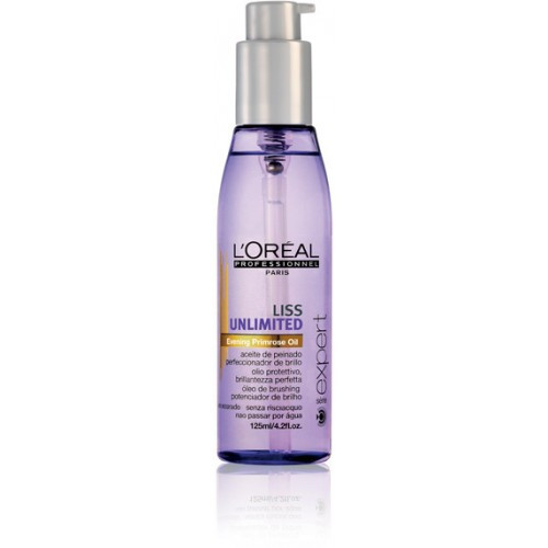 L'Oreal Serie Expert Liss Unlimited Blow Dry Oil 125ml