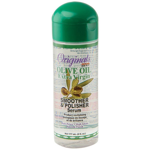 Africa's Best Organics Olive Oil Extra Virgin Hair Polish 6oz