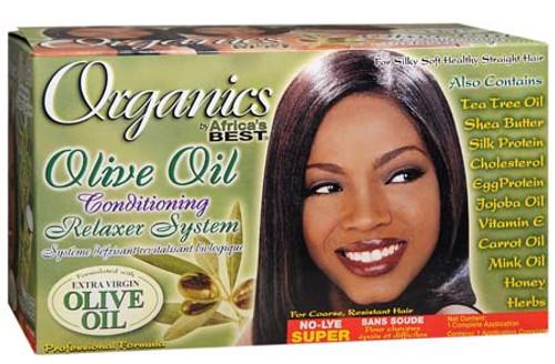 Africa's Best Organics Olive Oil Relaxer Kit Super