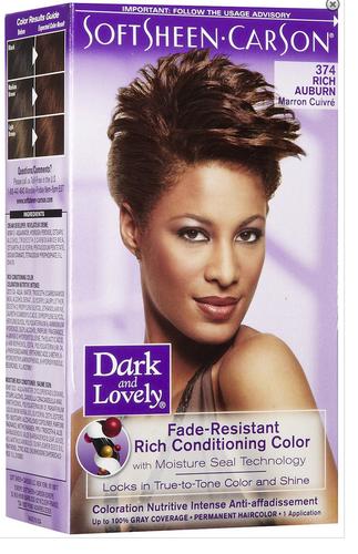 Dark & Lovely Rich Conditioning Hair Color - Rich Auburn
