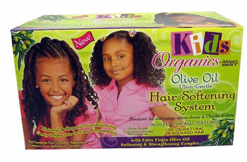 Organics Kids Olive Oil Hair Softening System Kit