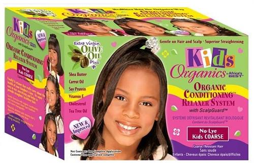 Africa's Best Organics Kids No-Lye Relaxer Kit Coarse