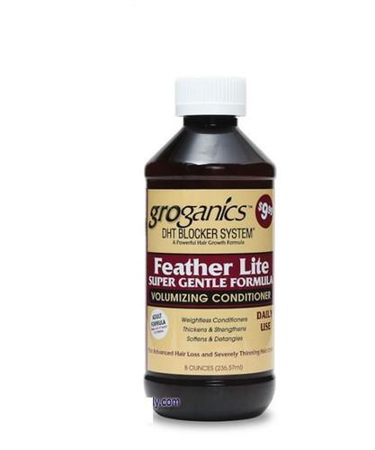 Groganics Featherlite Hair Loss Thinning Volume Conditioner 8oz