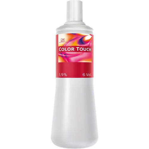 Wella Colour Touch Creme Lotion 1000ml - 4% (Plus)