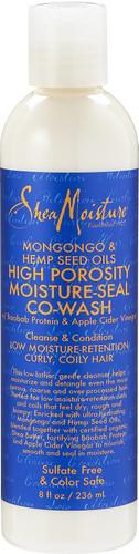 Shea Moisture Mongongo & Hemp Seed Hair Porosity Co-Wash 236ml