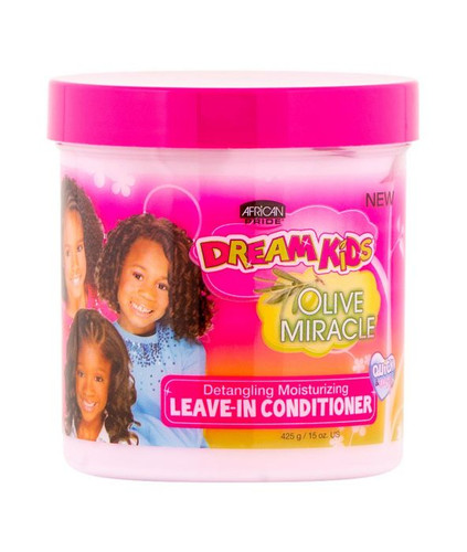 African Pride Dream Kid's Olive Miracle Leave in Conditioner 15oz