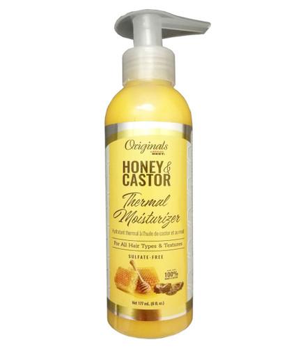 Africa's Best Originals Honey & Castor Thermal Moisturizer 6oz