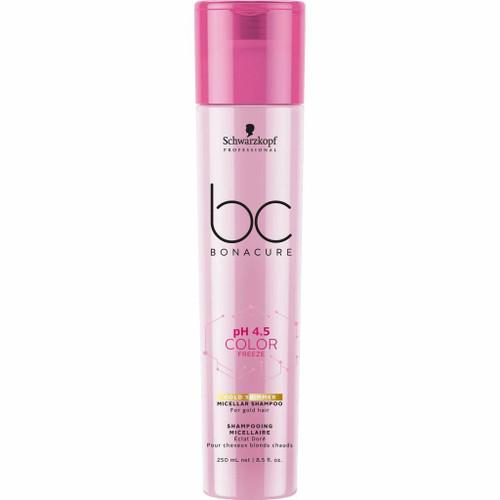 Schwarzkopf BC Color Freeze Gold Shimmer Shampoo 250ml