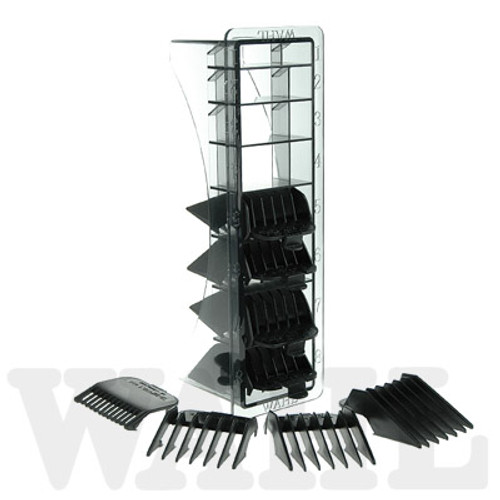 Wahl Clipper Cutting Guides / Attachment Set Black