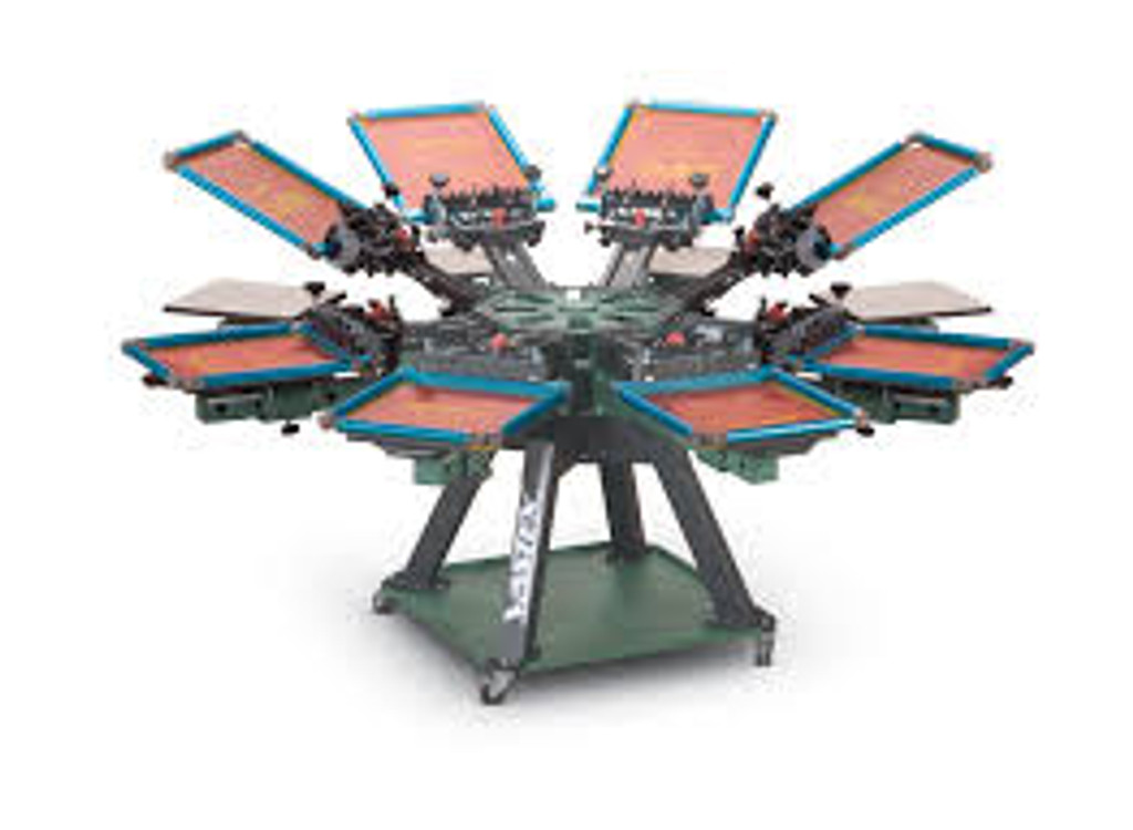 V2000HD Vastex Premium Manual Screen Printing Press