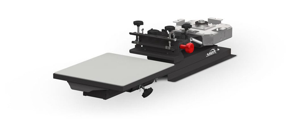 Vastex V1000 Manual Screen Printing Press 1 Station 1 Colour