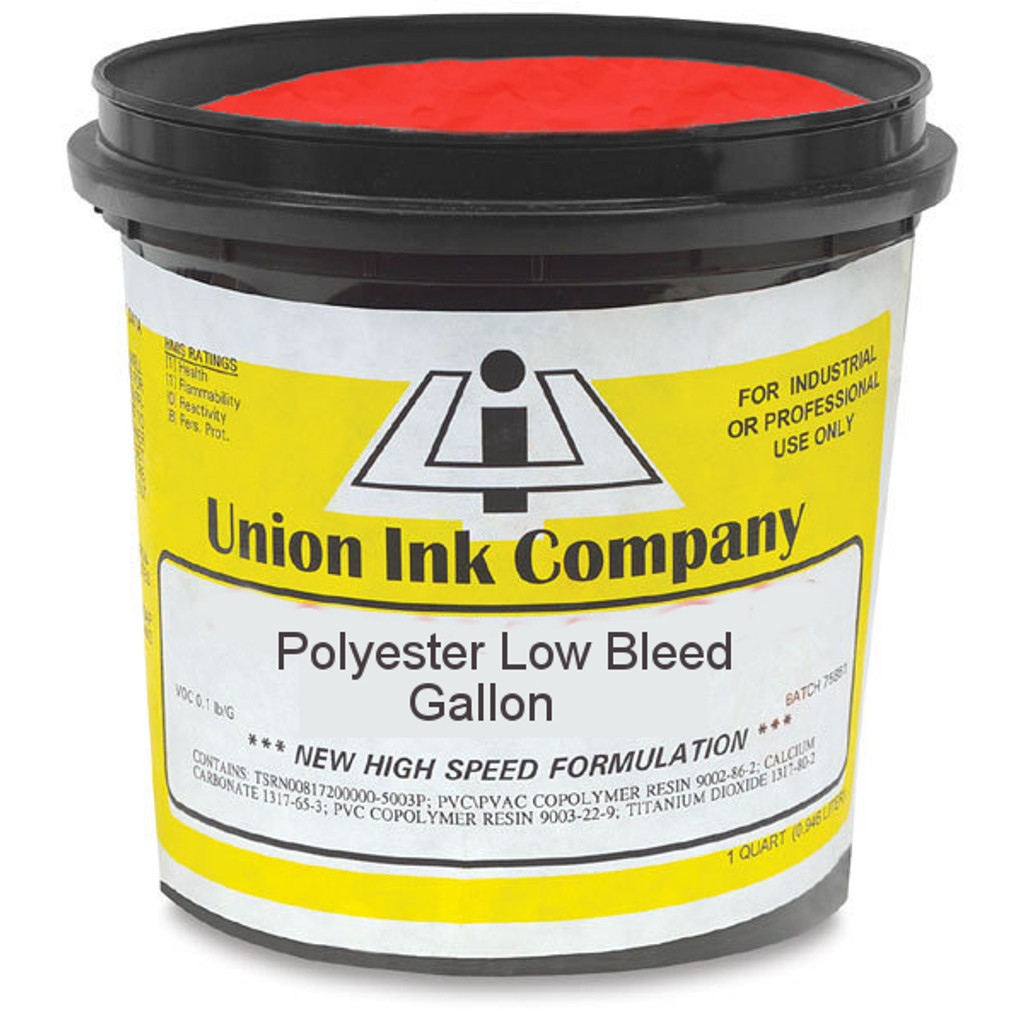 Polyester Low Bleed Red - Gallon