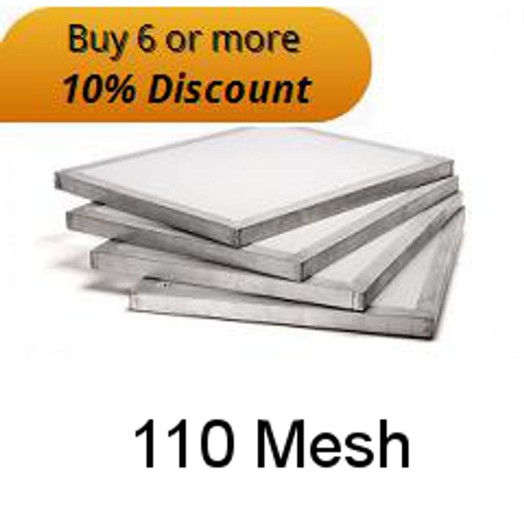 """110 Mesh 20"""" X 24"""" Aluminium Screen"""