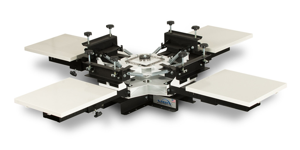 Vastex V100 4 Colour 4 Station Tabletop Press