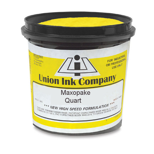 Union Maxopake Chrome Yellow - Quart