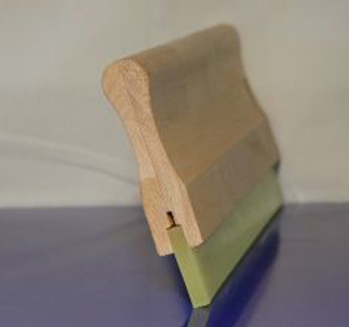"""10"""" Manual Squeegee 70 Durometer with Handle"""
