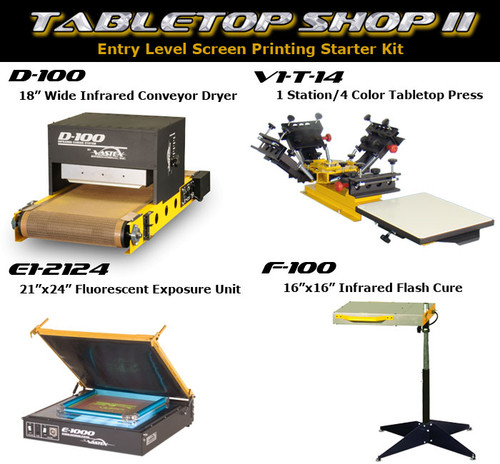 Vastex Tabletop Shop II Package