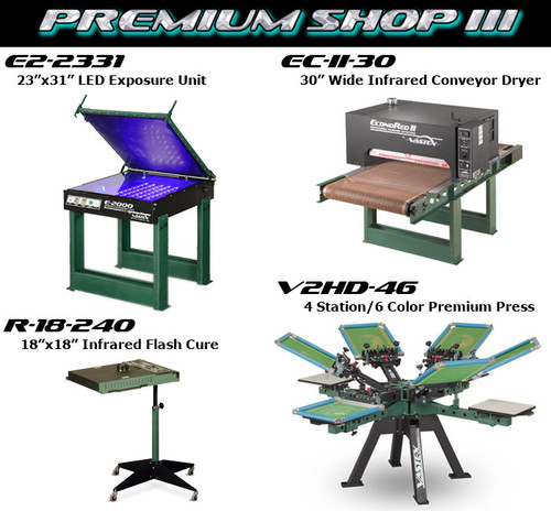 Vastex Premium Shop III Package