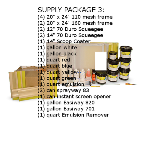 Plastisol Supply Package III