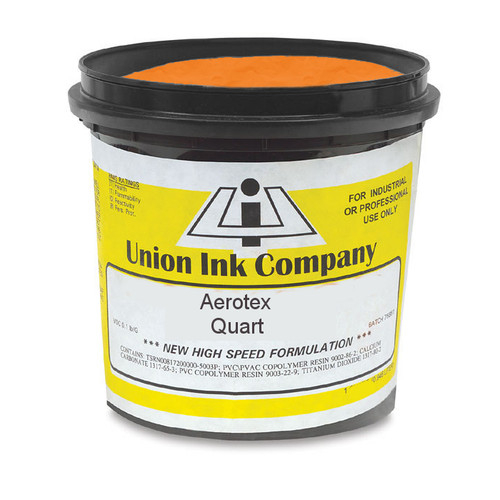 Aerotex Waterbased Orange - Quart