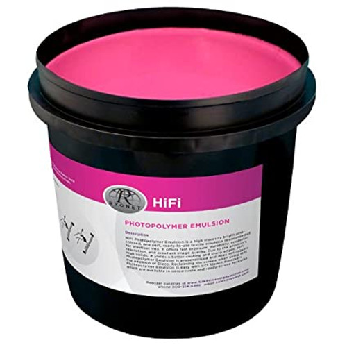 Hifi Pink Photopolymer Emulsion Quart