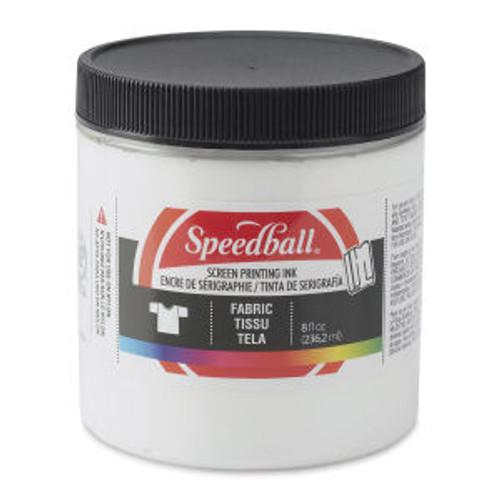 Speedball Fabric Screen Printing Ink White 8 oz