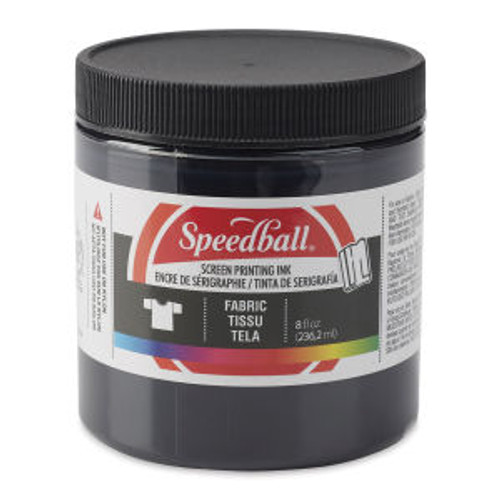 Speedball Fabric Screen Printing Ink Black 8 oz