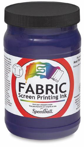 Speedball Fabric Screen Printing Ink Violet 32 oz