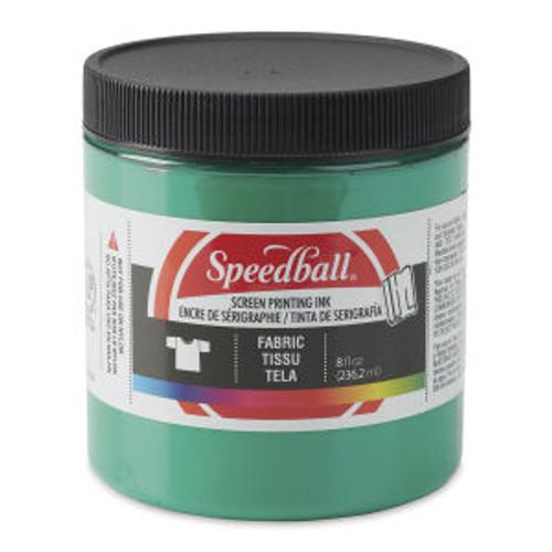 Speedball Fabric Screen Printing Ink Green 8 oz
