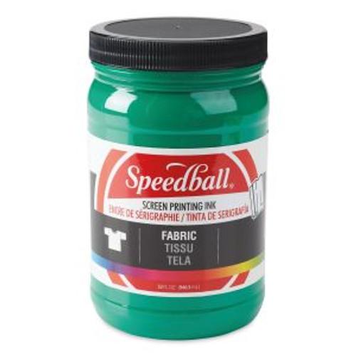 Speedball Fabric Screen Printing Ink Green 32 oz