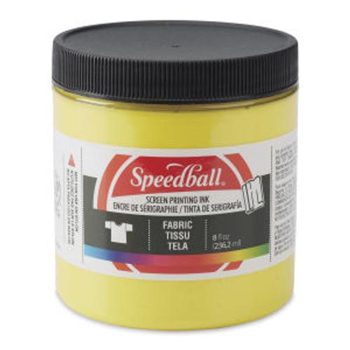 Speedball Fabric Screen Printing Ink Yellow 8 oz