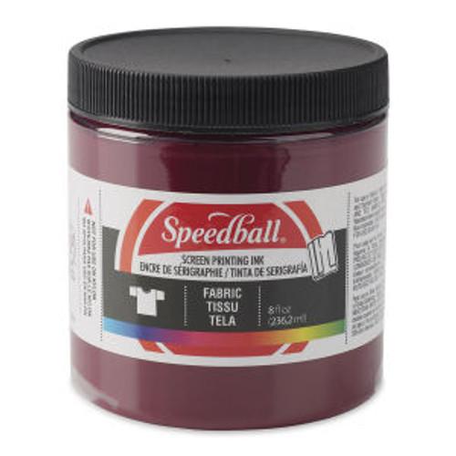 Speedball Fabric Screen Printing Ink Burgundy 8 oz