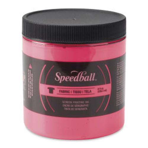 Speedball Fabric Screen Printing Ink Hot Pink 8 oz