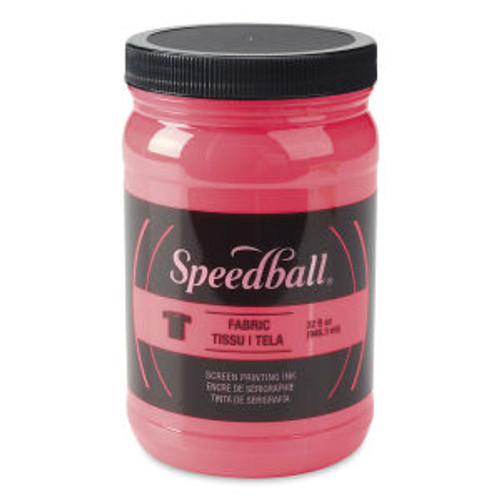 Speedball Fabric Screen Printing Ink Hot Pink 32 oz