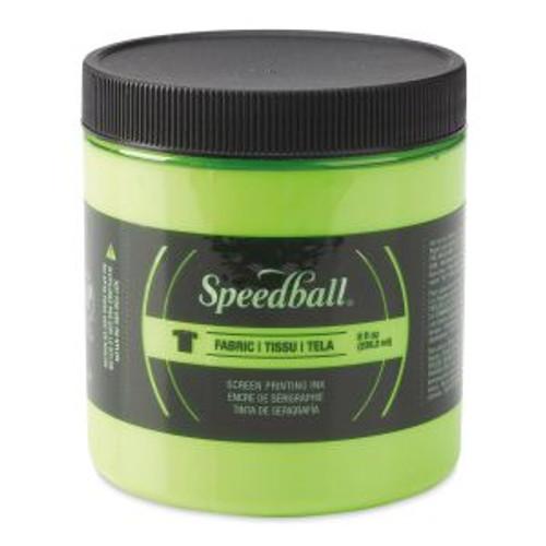 Speedball Fabric Screen Printing Ink Lime Green 8 oz