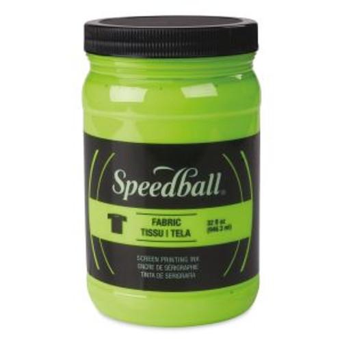 Speedball Fabric Screen Printing Ink Lime Green 32 oz