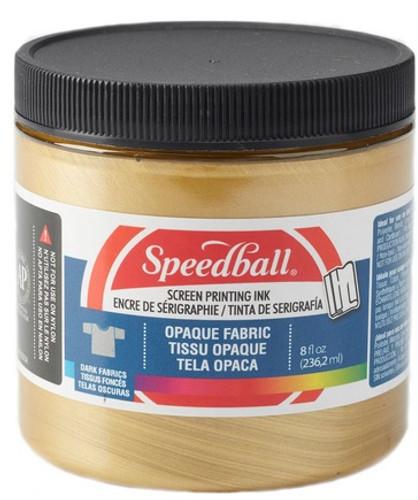 Speedball Fabric Screen Printing Ink Gold 8 oz