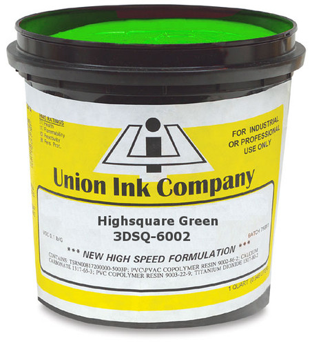 Union Ink 3D High Square Series 3DSQ