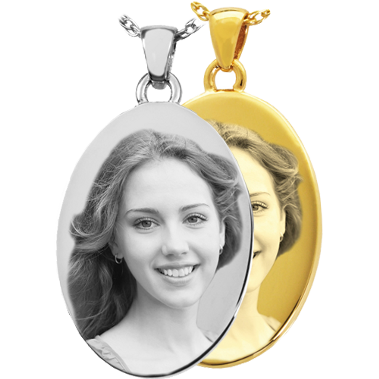 Oval Print/Photo Pendant