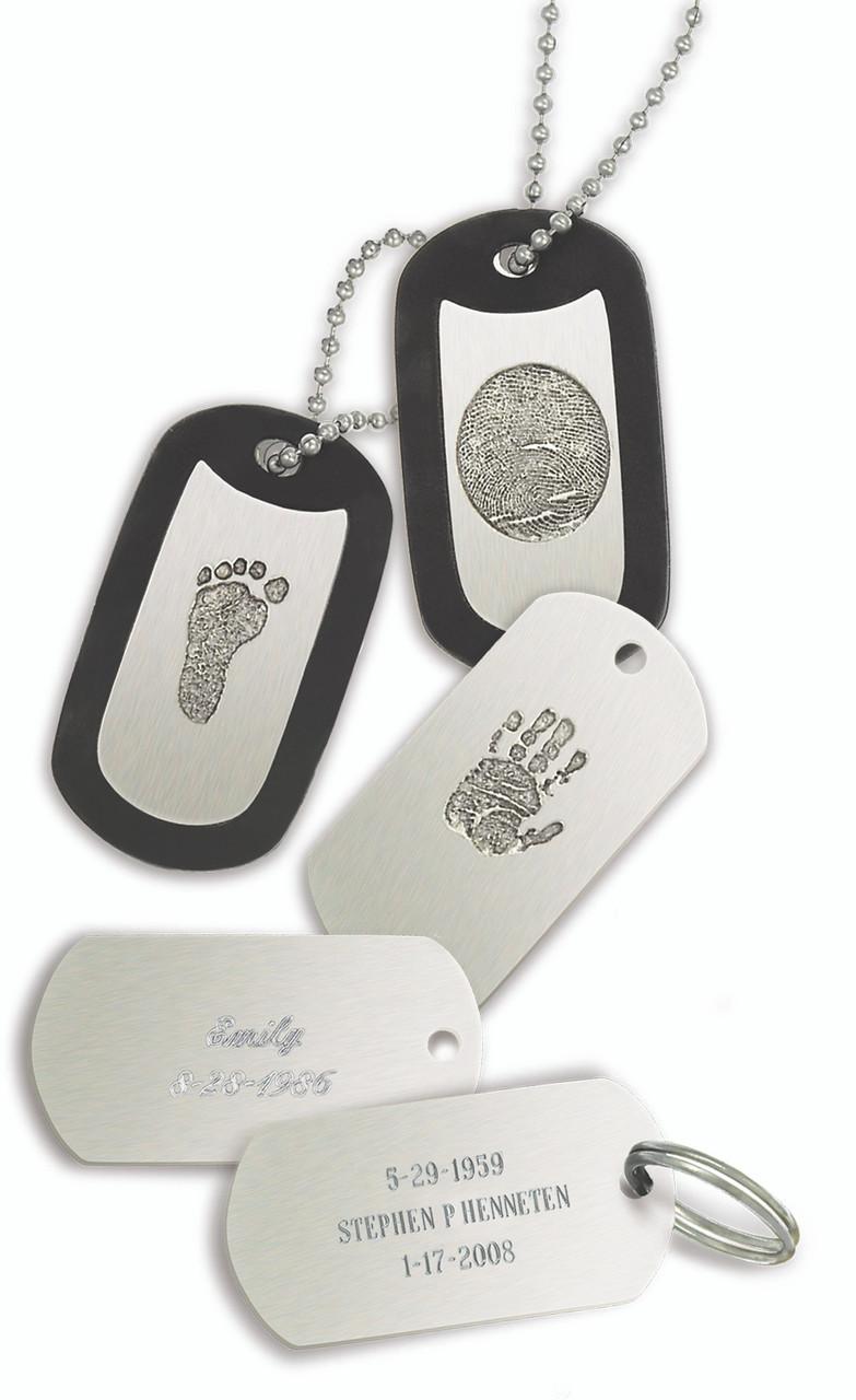 Engraving for Bronze Key Tag - Large Print - Back