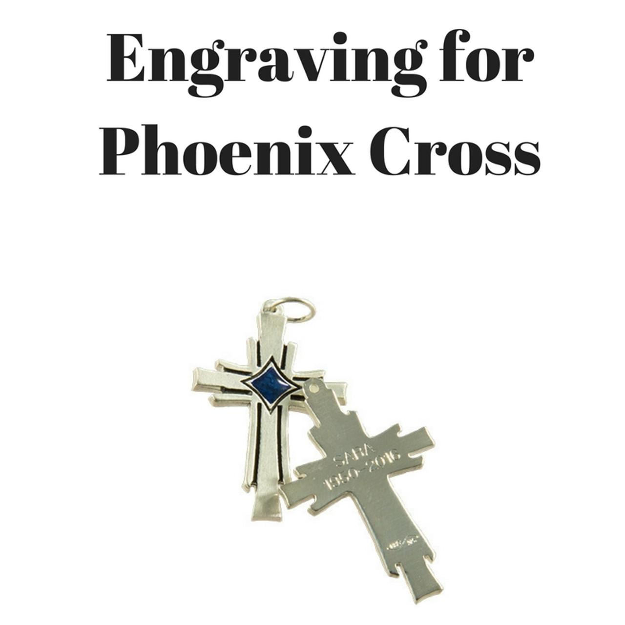 Engraving for Phoenix Cross