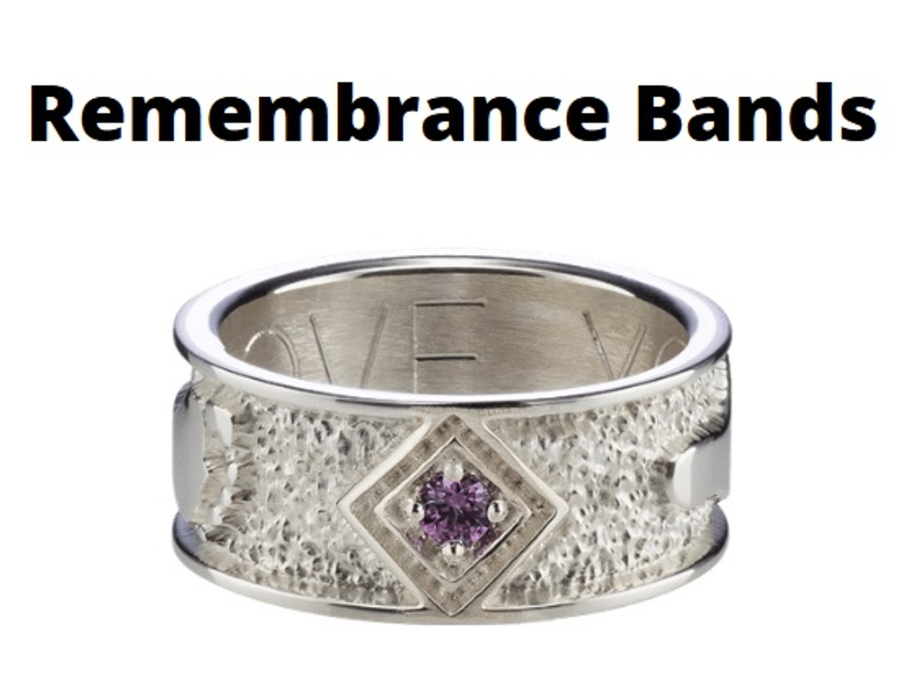 Remeberance Band Rings