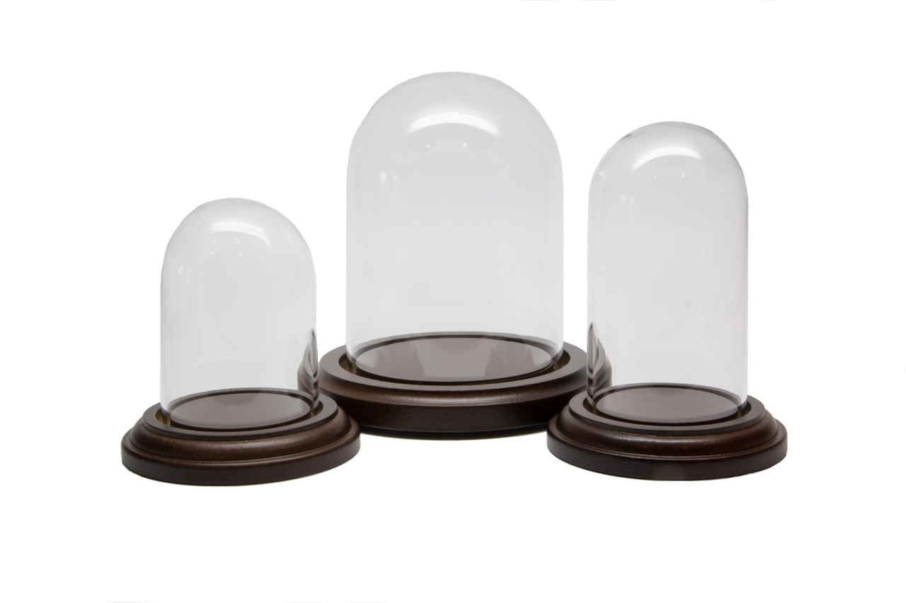 Three Sizes of Domes - Trays or Tear Bottles shown are Sold Separately