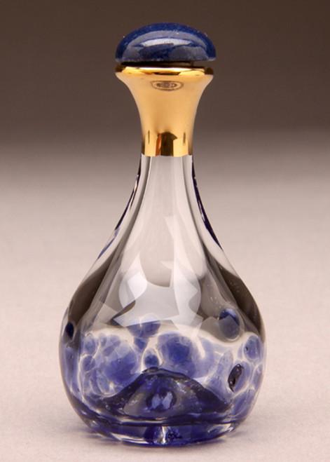 Blue Contemporary Tear Bottle
