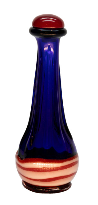 Lady Liberty (Red, White & Blue) Contemporary Tear Bottle