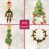 Christmas Chew & Foraging Parrot Toy Pack