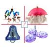 Acrylic Toys Kit for Medium to Large Parrots