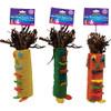 Tiki Time Tube Hanging Chew Parrot Toy